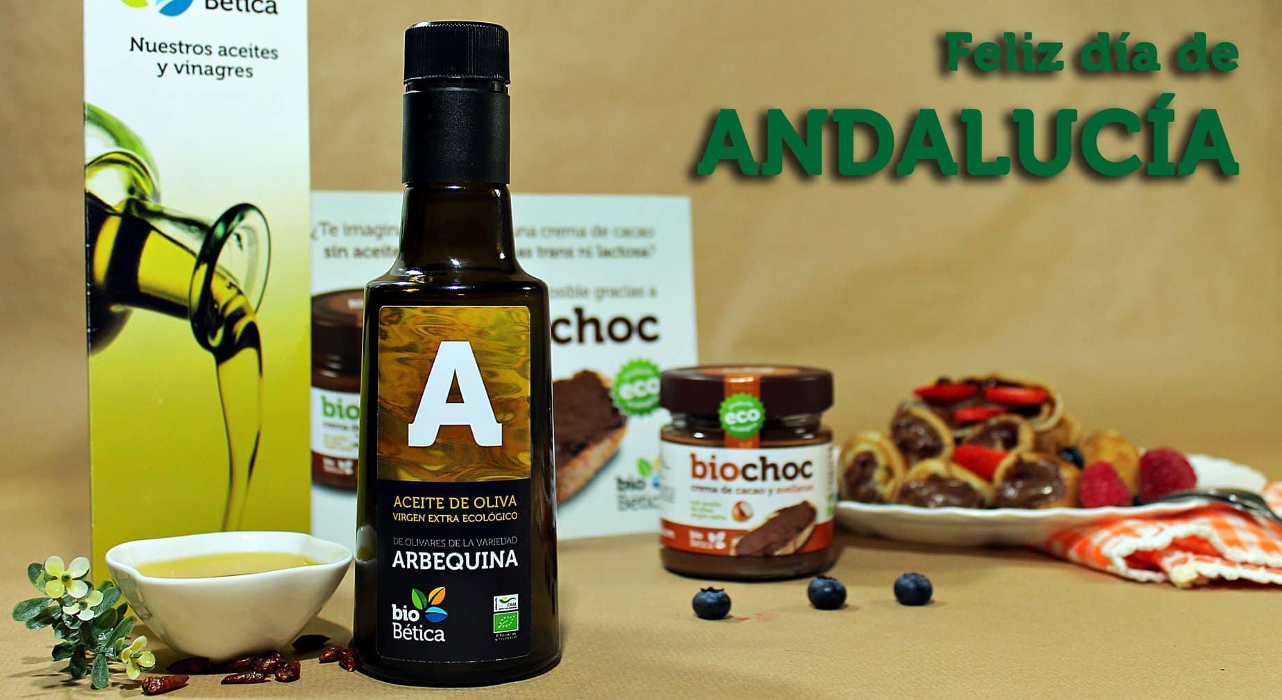 Aceite de oliva virgen extra ecológico Arbequina biobética