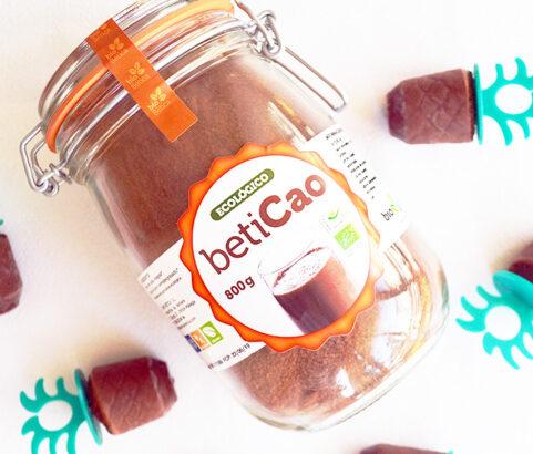 Helado Ecológico de Soja y betiCao - Receta Vegana