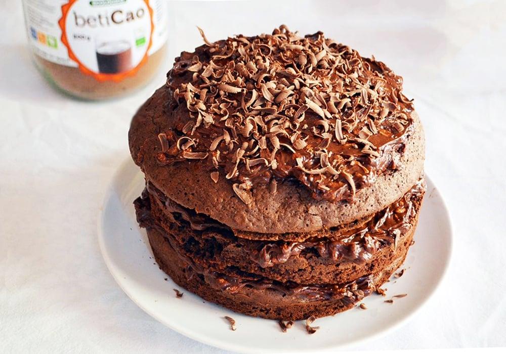 Tarta de Chocolate BetiCao