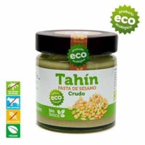 Biobetica-bio-betica-campo-crema-pasta-tahin-CRUDO-blanco-sesamo-sin-gluten-lactosa-vegano-ecologica