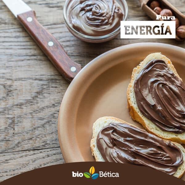 Crema de cacao sin gluten y sin frutos secos