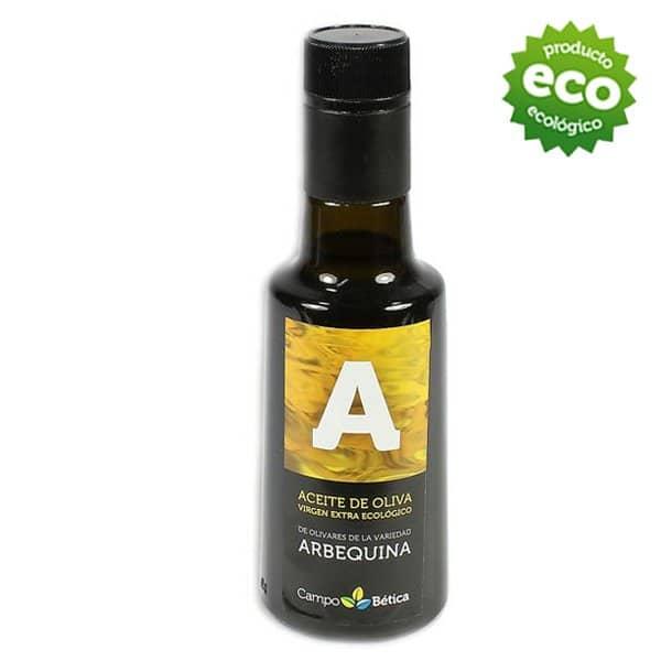 Aceite de oliva virgen extra biobetica-aove-arbequino-1-litro-aceite-oliva-extra-virgen-ecologico-monovarietal-hojiblanca-arbequina-250ml