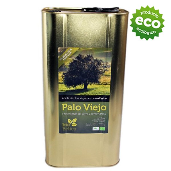 Aceite de oliva virgen extra biobetica-aove-palo-viejo-5-litro-aceite-oliva-extra-virgen-ecologico-plurivarietal-hojiblanca-arbequina