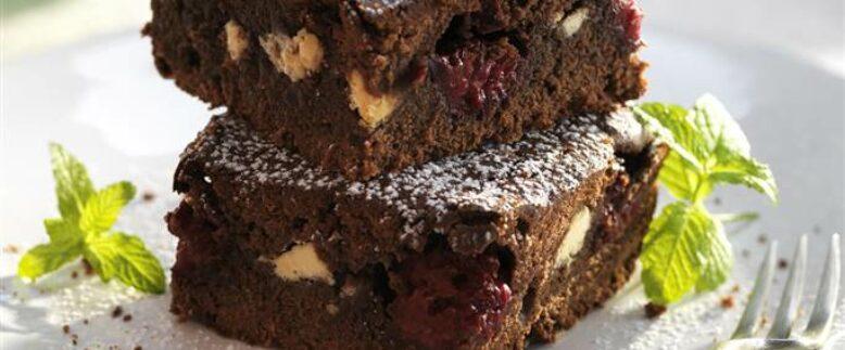 Brownie con Plátano y Aguacate - Receta Vegana
