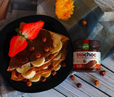 Crepes dulces con bioChoc