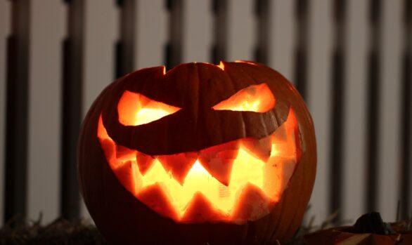 Crema de Calabaza y Sésamo - Receta para Halloween