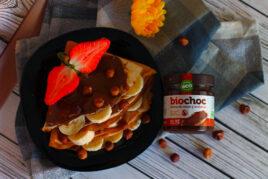 Crema de cacao con frutos secos, sin gluten y sin lactosa - BioChoc