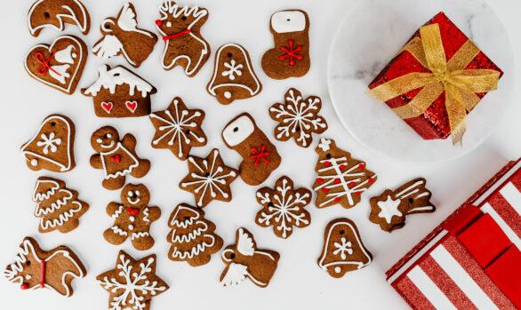Galletas de Navidad Veganas y Sin Gluten