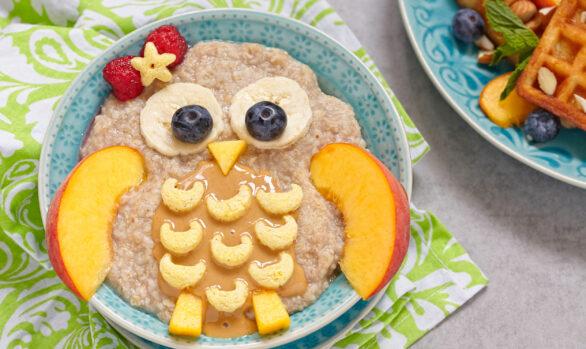 Porridge para LA VUELTA AL COLE