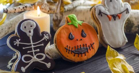 Galletas de Halloween Veganas y SIN GLUTEN