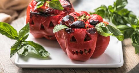 Monster Pepper - Receta para Halloween