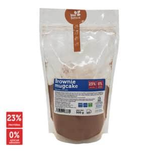 Brownie mugcake protein, brownie proteico a la taza