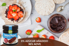 bioChoc 0% Azúcar añadido · 36% AOVE