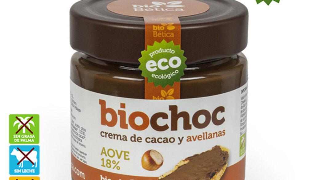 COMPRAR Crema de cacao y avellanas sin gluten y sin lactosa. VEGANA