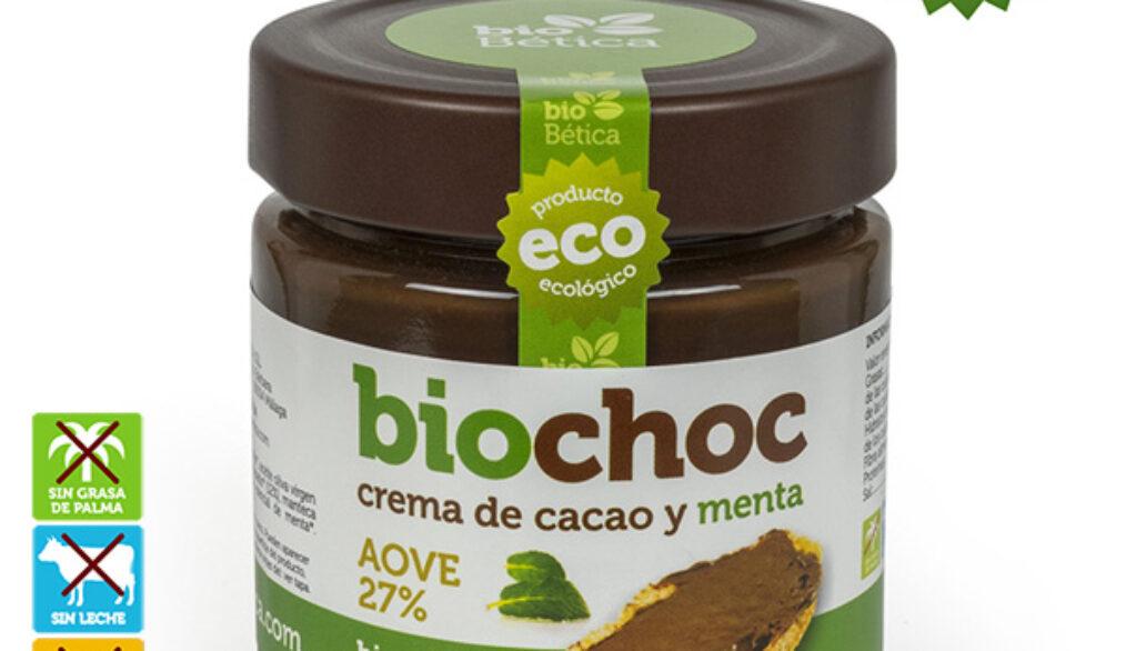 COMPRAR Crema de cacao y menta sin frutos secos, sin lactosa, apto para APLV y vegana