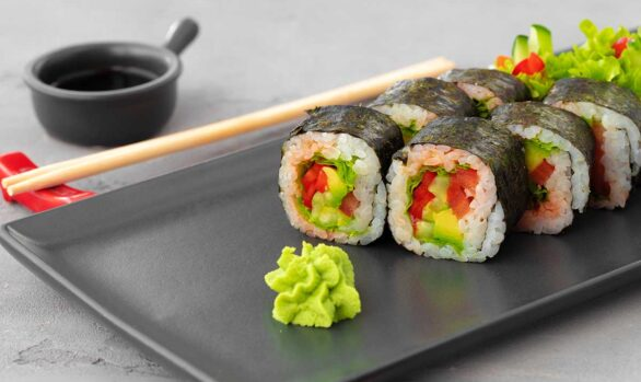 Sushi vegano - makis