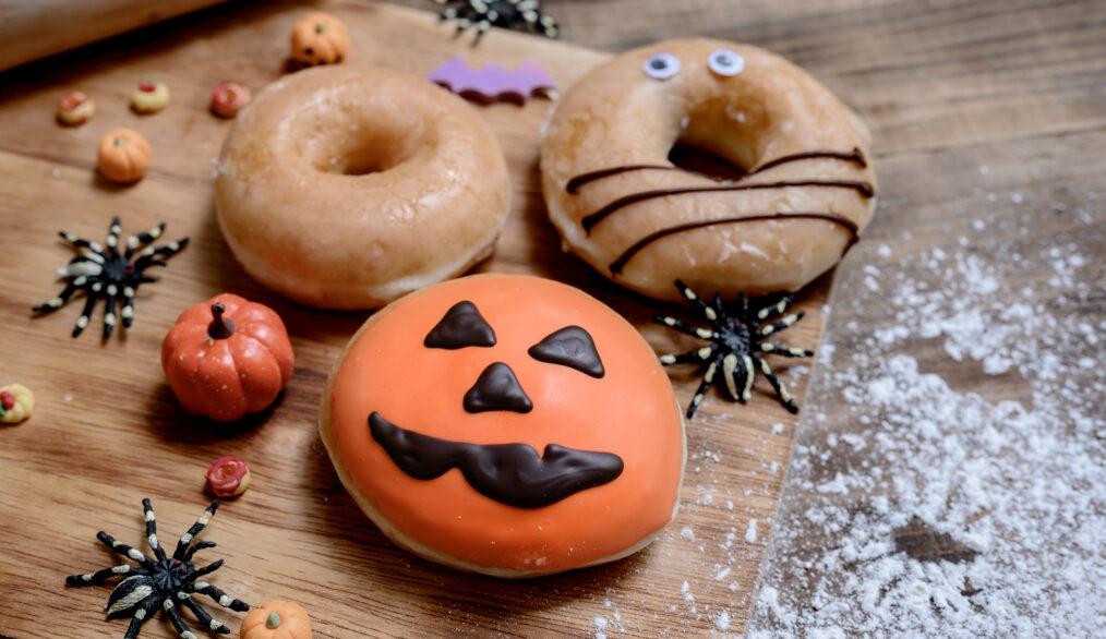 Donuts sin gluten para halloween aptos para celiacos