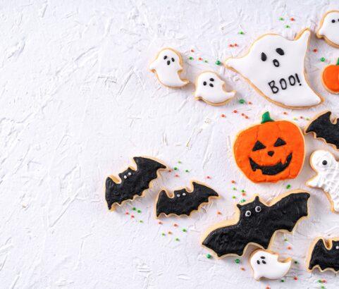 Galletas de canela para Halloween